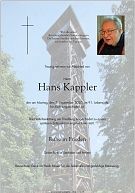 Kappler Hans